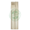 Individually Wrapped Disposable Wooden Cutlery