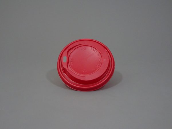 Red Paper Cup Lid
