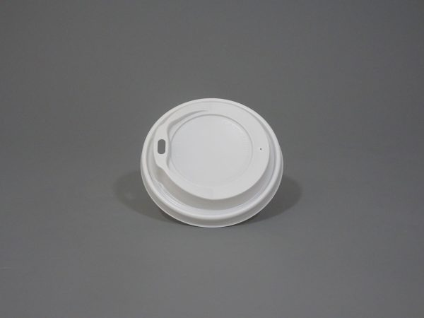 White Paper Cup Lid