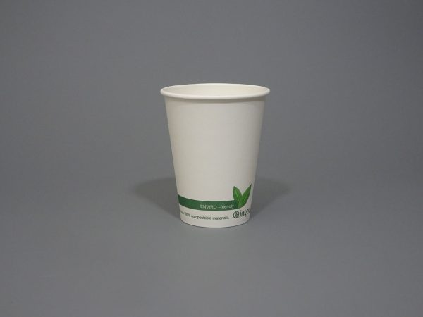 12oz Ingeo Compostable Coffee Cup
