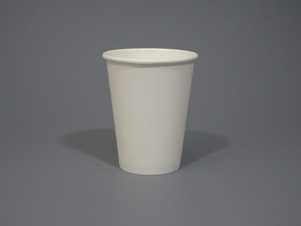12oz White Paper Coffee Cup