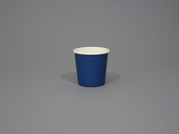 4oz Navy Blue Paper Coffee Cup