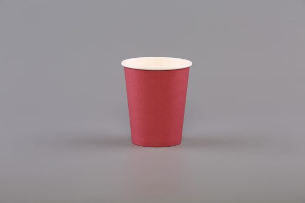 8oz Red Paper Coffee Cup