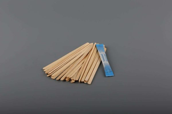 """Biodegradable Wooden Coffee Stirrers 7"""""""