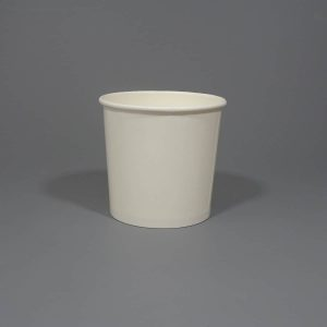 26oz White Soup Container