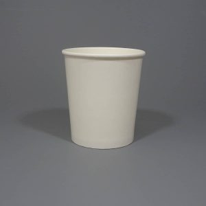 32oz White Soup Container