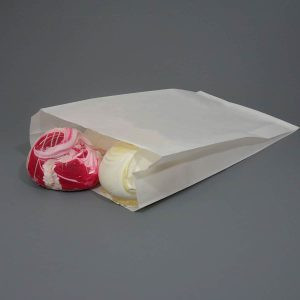 Greaseproof White Paper Bag Compostable