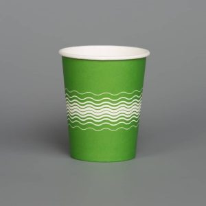 8oz Green Printed Paper Cup
