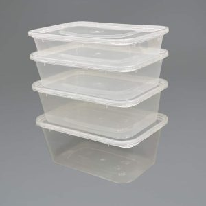 Clear Plastic Microwavable Food Containers With Lids