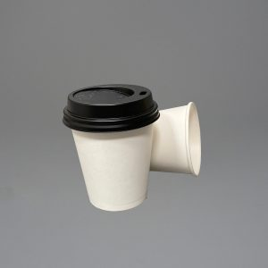 6oz Single walled white paper cups