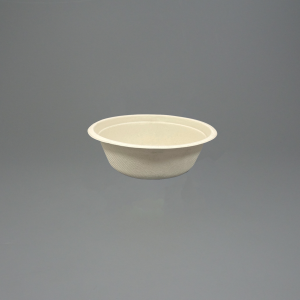 17oz GreenFeel Pulp Round Bowl For Hot Food and Cold food such as salads.