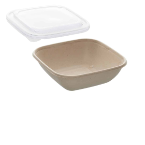 26oz Sabert Square Food Container with PP Lids