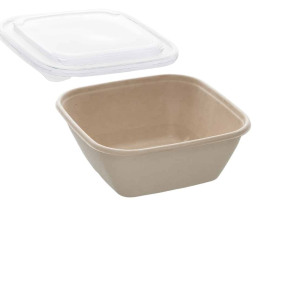 35oz Sabert Square Food Container with PP Lids